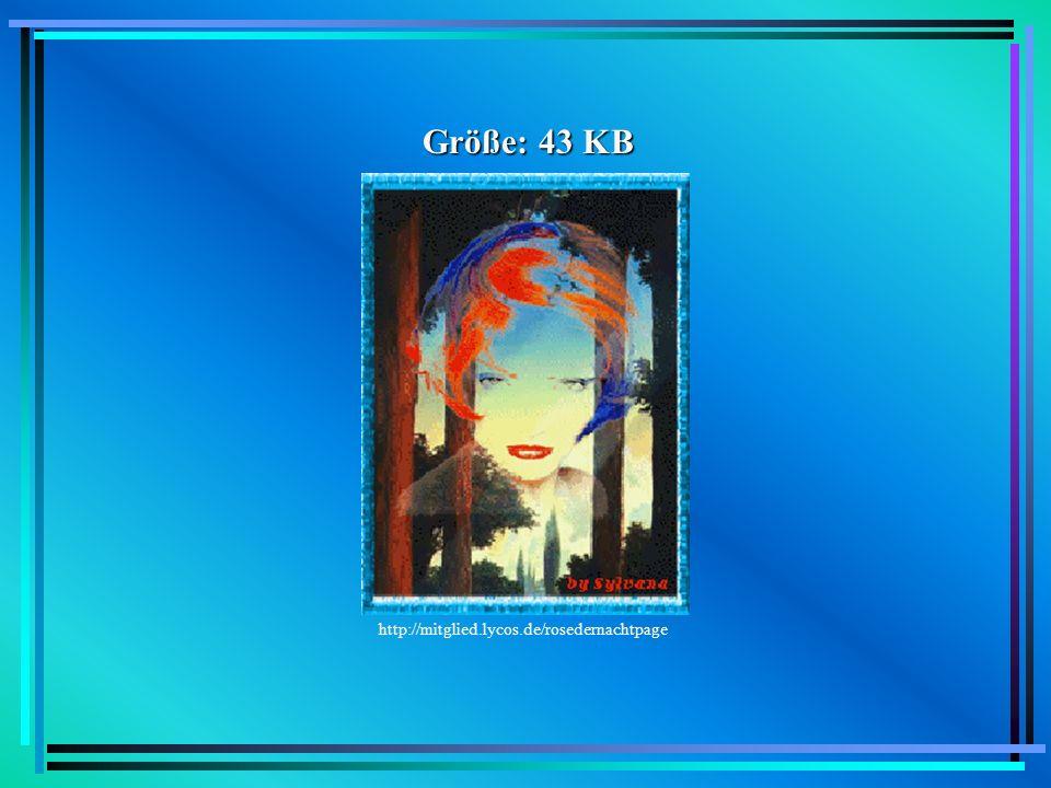 JPEG/JPG JPEG = Joint Picture Experts Group 1988 von C-Cube Microsystems entwickelt Standard zur Kodierung von Photographien kann 16,7 Mio.
