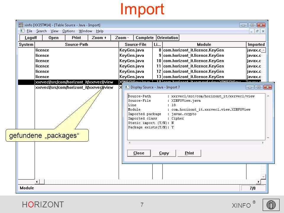 HORIZONT 18 XINFO ® Variables Gibt es globale Variable im Projekt xxrvecl/src/com/horizont_it/xxrvecl/view .