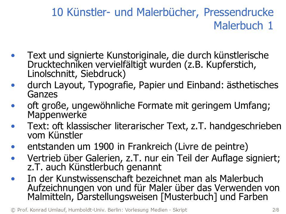 © Prof. Konrad Umlauf, Humboldt-Univ.