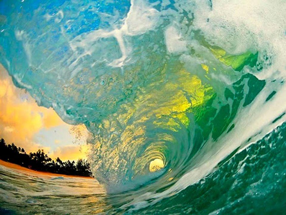 Welle von unten