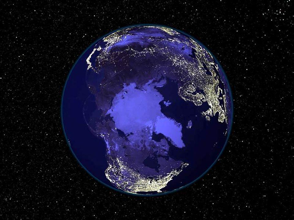 Auch bei Nacht ist die Erde wunderschön…