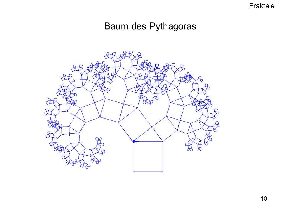 Fraktale 10 Baum des Pythagoras