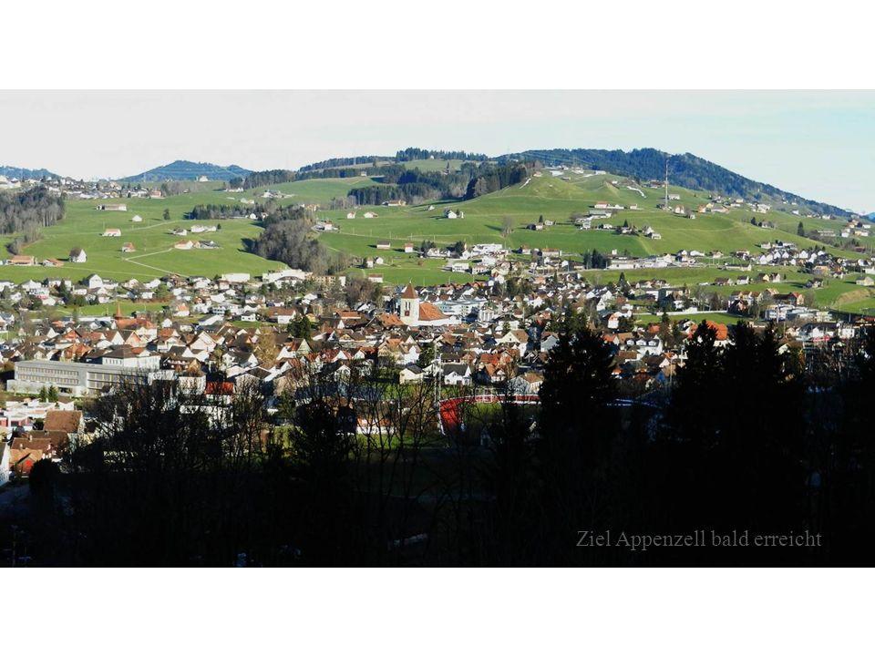 Ziel Appenzell bald erreicht