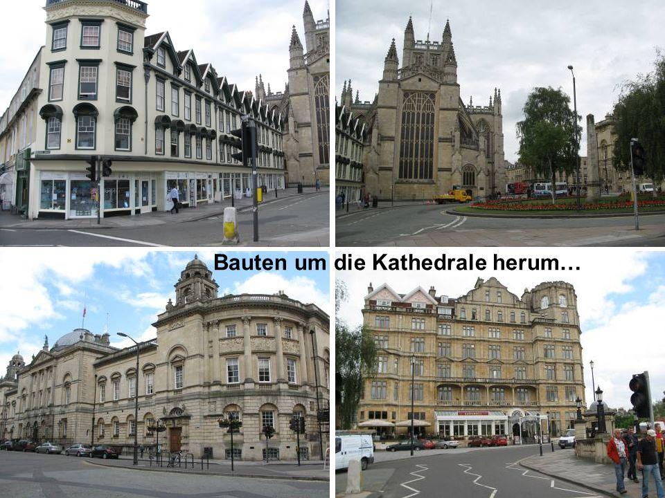 Bauten um die Kathedrale herum…