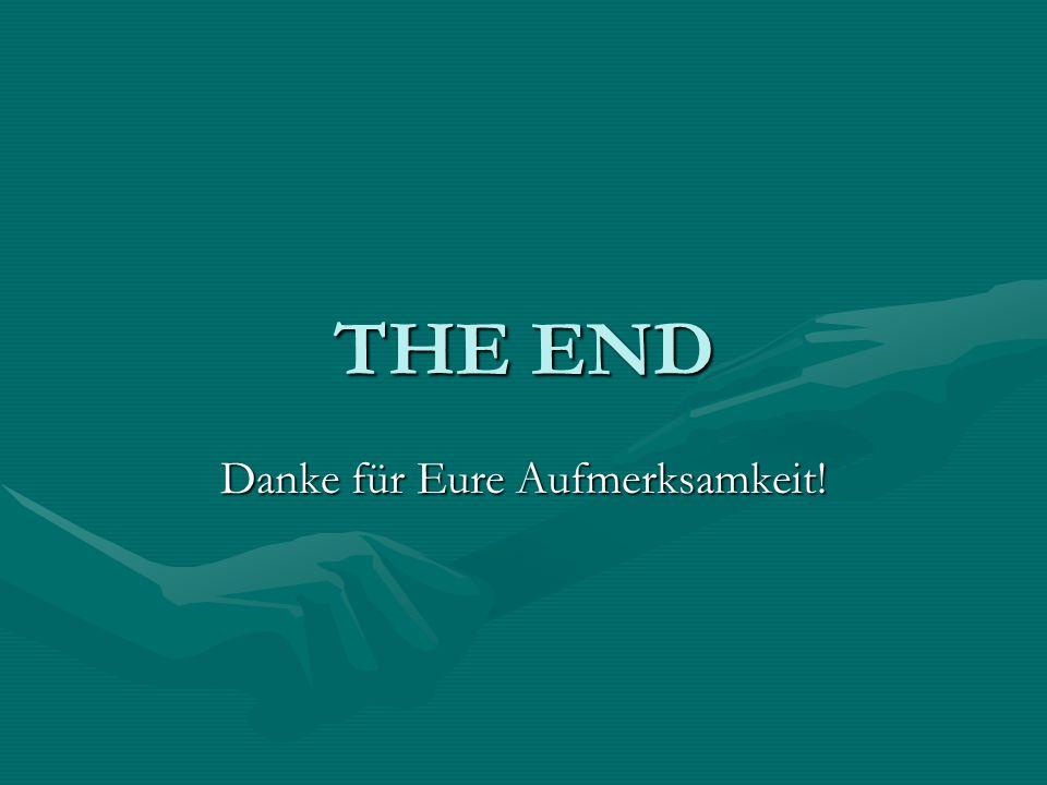 THE END Danke für Eure Aufmerksamkeit!