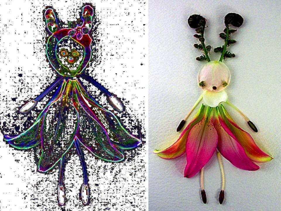 Tessy träumte von wunderschönen Farben, seltsamen Formen die sich nach & nach, vor ihren Augen in putzige, kleine Blütenblätter Gestalten verwandelten