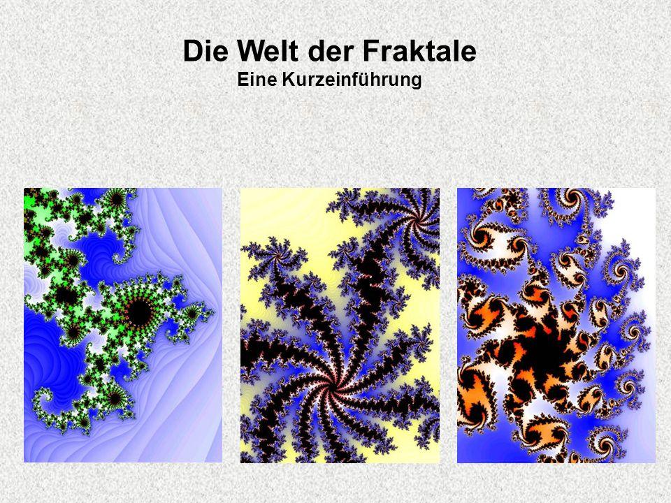 Die Welt der Fraktale Eine Kurzeinführung