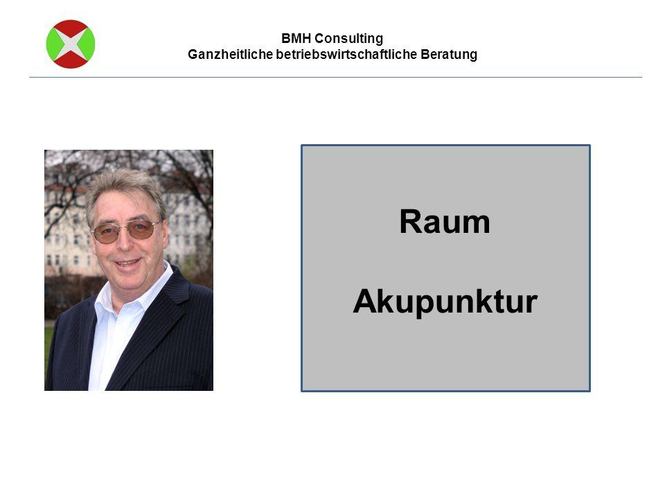 BMH Consulting Ganzheitliche betriebswirtschaftliche Beratung Raum Akupunktur