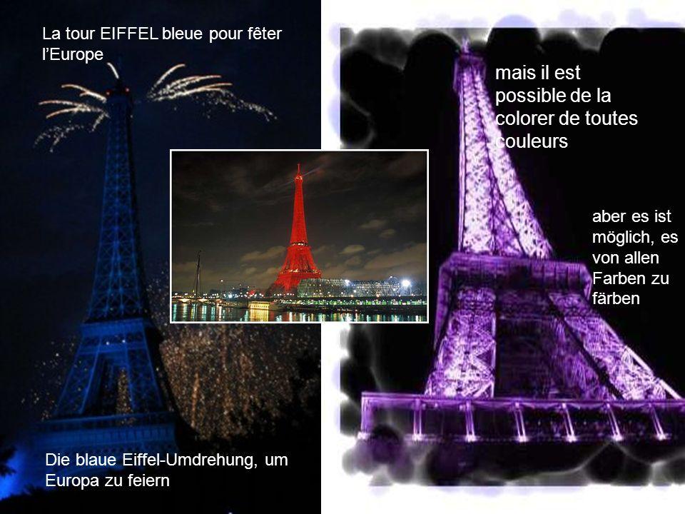 Cest dans le 7 eme arrondissement que lon peut aller la visiter Es ist in den 7 eme Distrikt, daß man es besuchen gehen kann