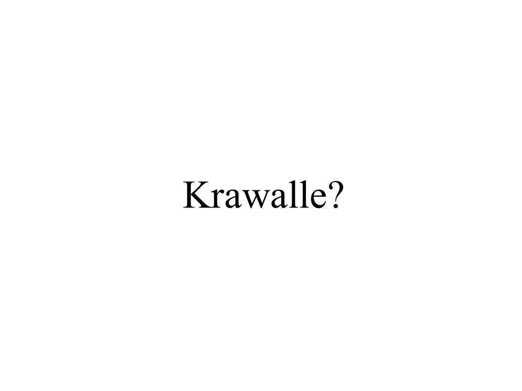 Krawalle