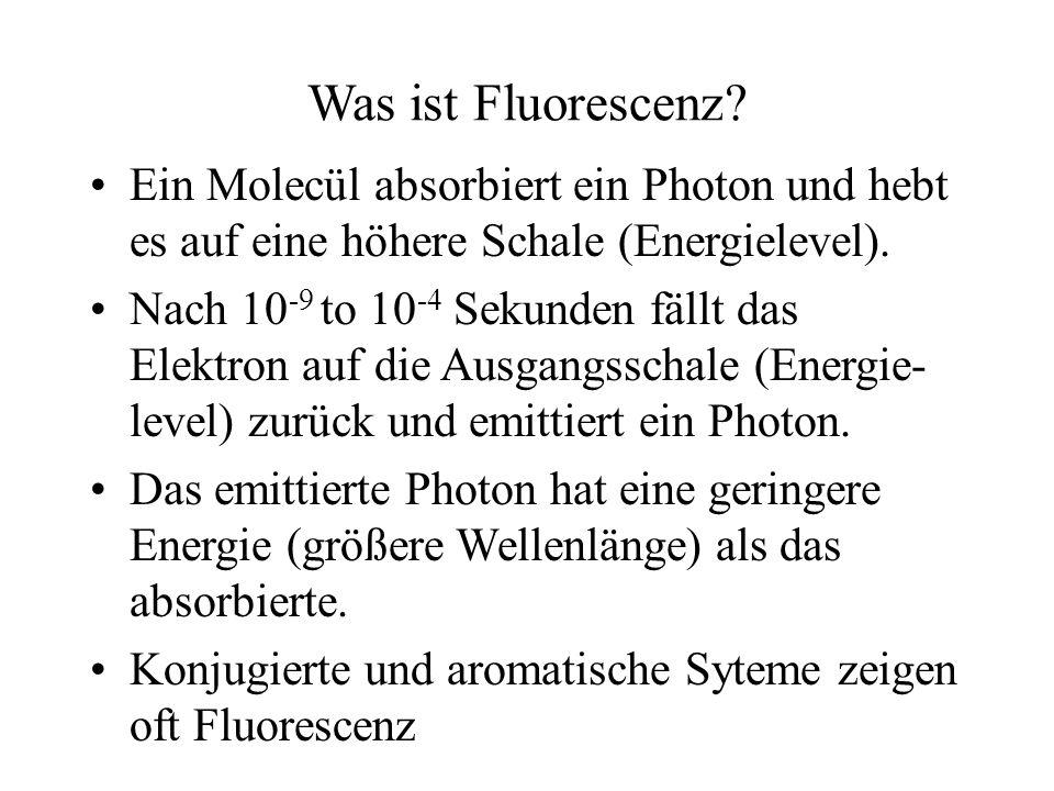 Was ist Fluorescenz.
