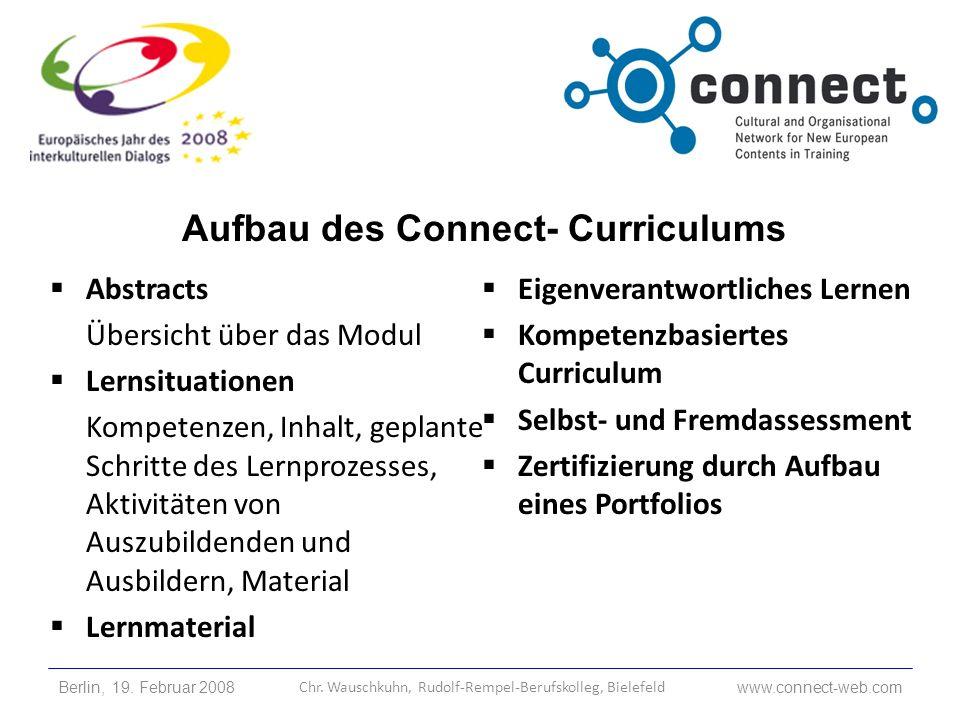 Abstracts Übersicht über das Modul Lernsituationen Kompetenzen, Inhalt, geplante Schritte des Lernprozesses, Aktivitäten von Auszubildenden und Ausbil