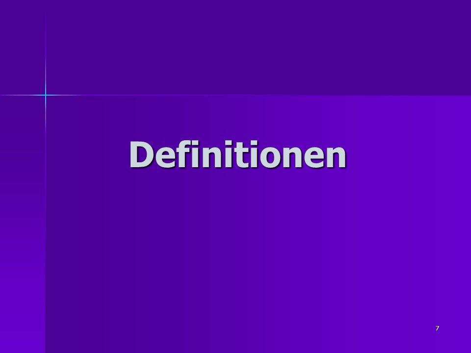 7 Definitionen