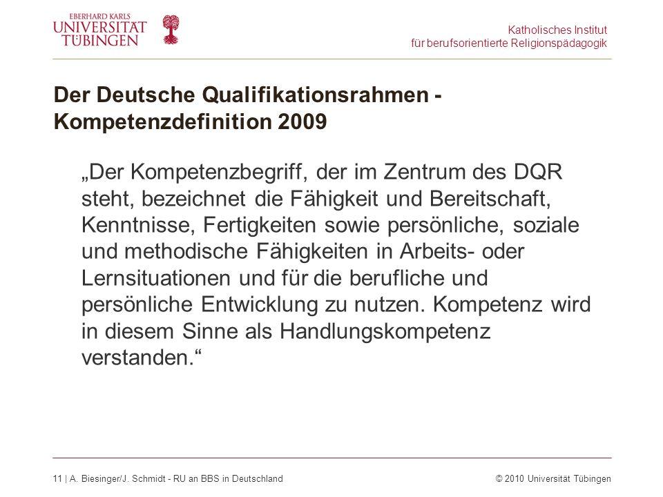 Katholisches Institut für berufsorientierte Religionspädagogik 11 | A.