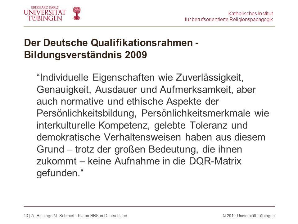 Katholisches Institut für berufsorientierte Religionspädagogik 13 | A.