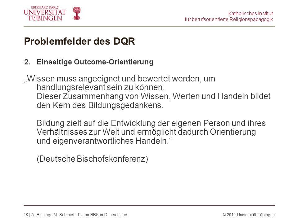 Katholisches Institut für berufsorientierte Religionspädagogik 18 | A.