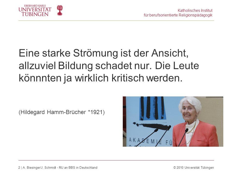 Katholisches Institut für berufsorientierte Religionspädagogik 3 | A.