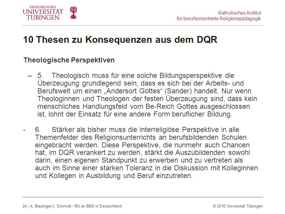 Katholisches Institut für berufsorientierte Religionspädagogik 24 | A.