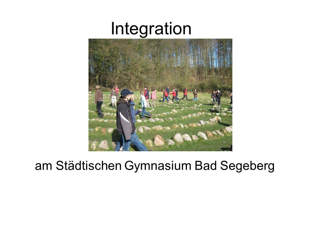 Integration am Städtischen Gymnasium Bad Segeberg