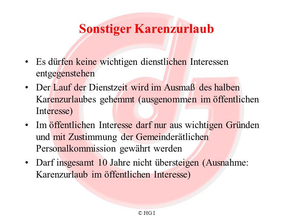 © HG I Dienstrechtsenat - Wirkungsbereich Dem Dienstrechtssenat obliegt –1.
