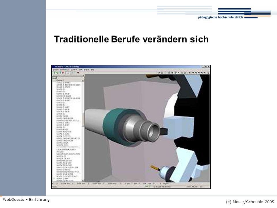 (c) Moser/Scheuble 2005 WebQuests - Einführung Die Wissensgesellschaft