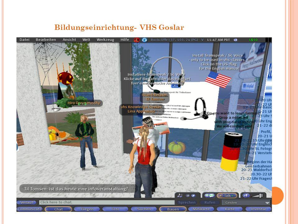Bildungseinrichtung Bildungseinrichtung- VHS Goslar