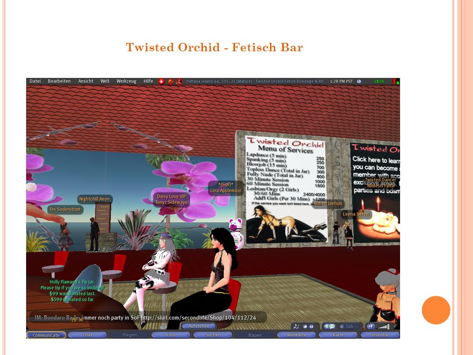 Twisted Orchid - Fetisch Bar
