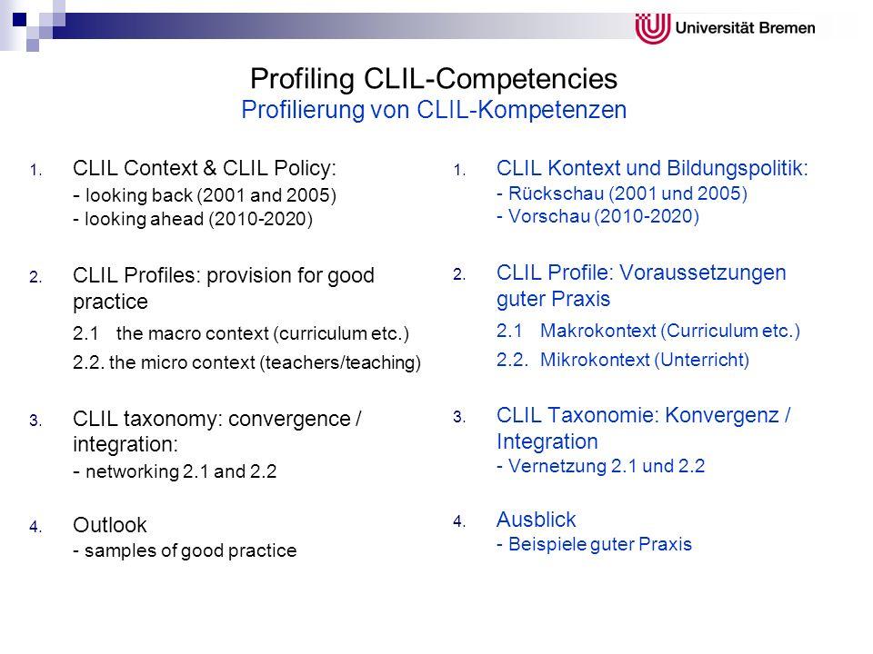 Languages as key qualifiers Sprachkompetenz als Schlüsselqualifikation Teaching and Learning: towards the Learning Society (EC 2001) Dans de nombreux pays, il est tout à fait normal que la plupart des gens puissent utiliser trois langues.