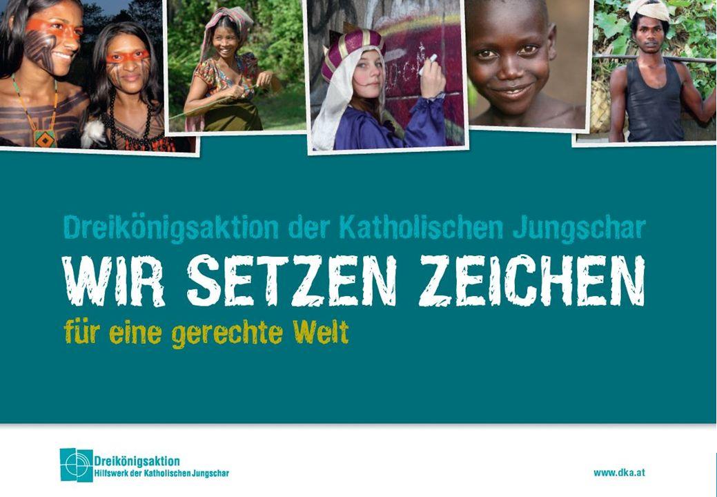 www.sternsingen.at Arbeitsbereiche Internationale Projekte und Programme Bildungsarbeit Anwaltschaft www.dka.at