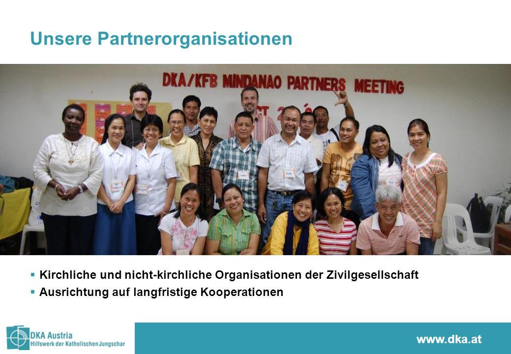 Unsere Partnerorganisationen Kirchliche und nicht-kirchliche Organisationen der Zivilgesellschaft Ausrichtung auf langfristige Kooperationen www.stern