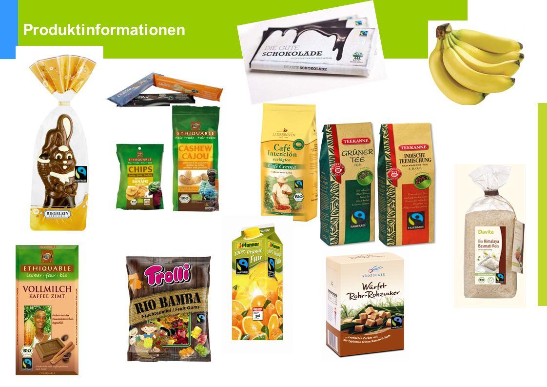 Fairtrade Towns Kriterien Produktinformationen