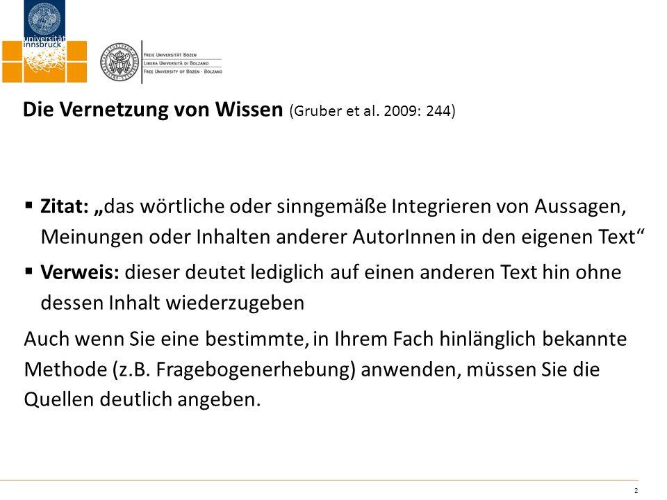 13 Handelt es sich um mehrere Autoren: Ehlich & Rehbein 1977 Ehlich / Rehbein 1977 Ehlich; Rehbein 1977 Bei mehr als drei Autoren: Ehlich et al.