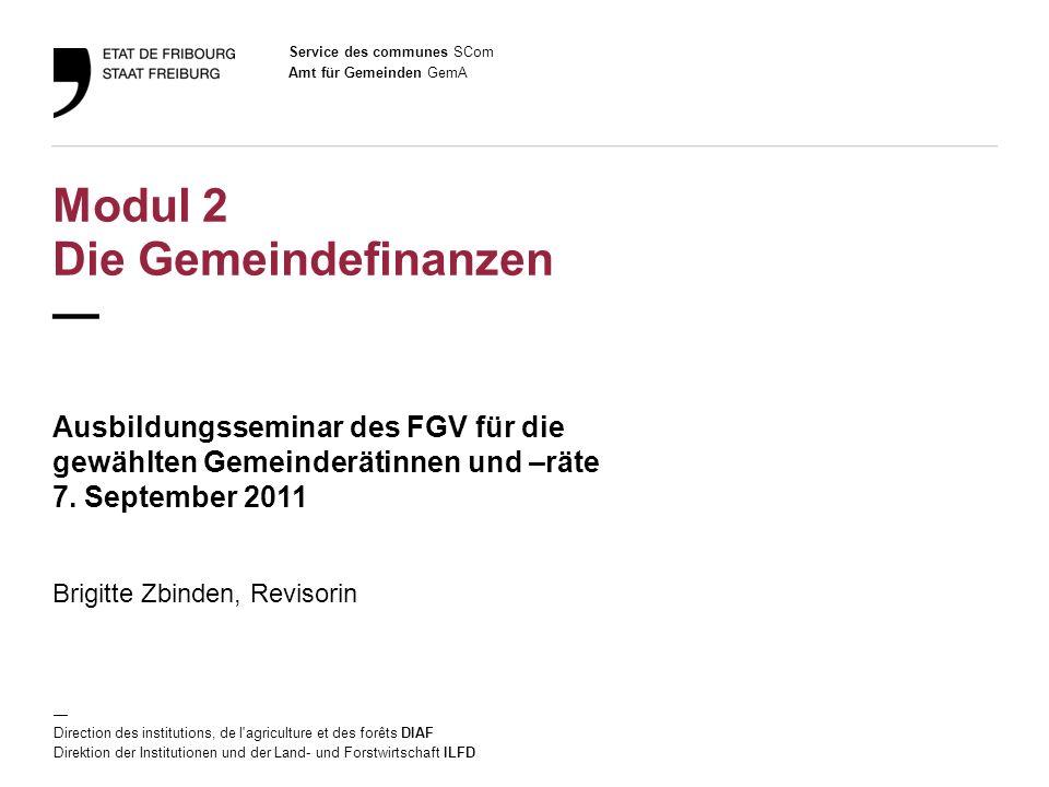 12 Amt für Gemeinden GemA Ausbildungsseminar des FGV / 7.