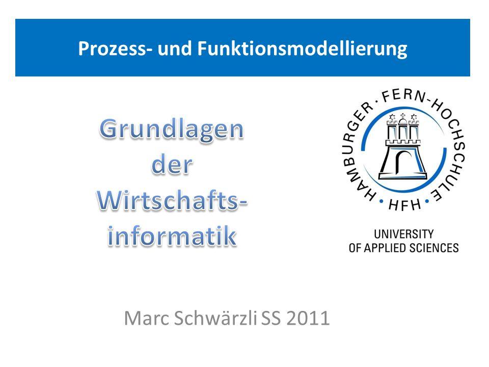 Prozess- und Funktionsmodellierung Marc Schwärzli SS 2011