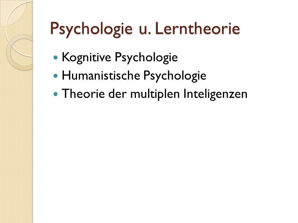 Psychologie u.