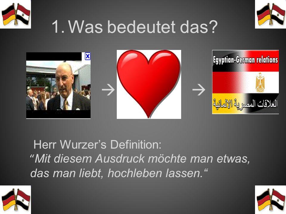 Das Inhaltsverzeichnis : 1.Was bedeutet das eigentlich Es lebe die deutsch-ägyptische Freundschaft?! 2.Wann & wo haben die Schülerinnen begonnenEs leb