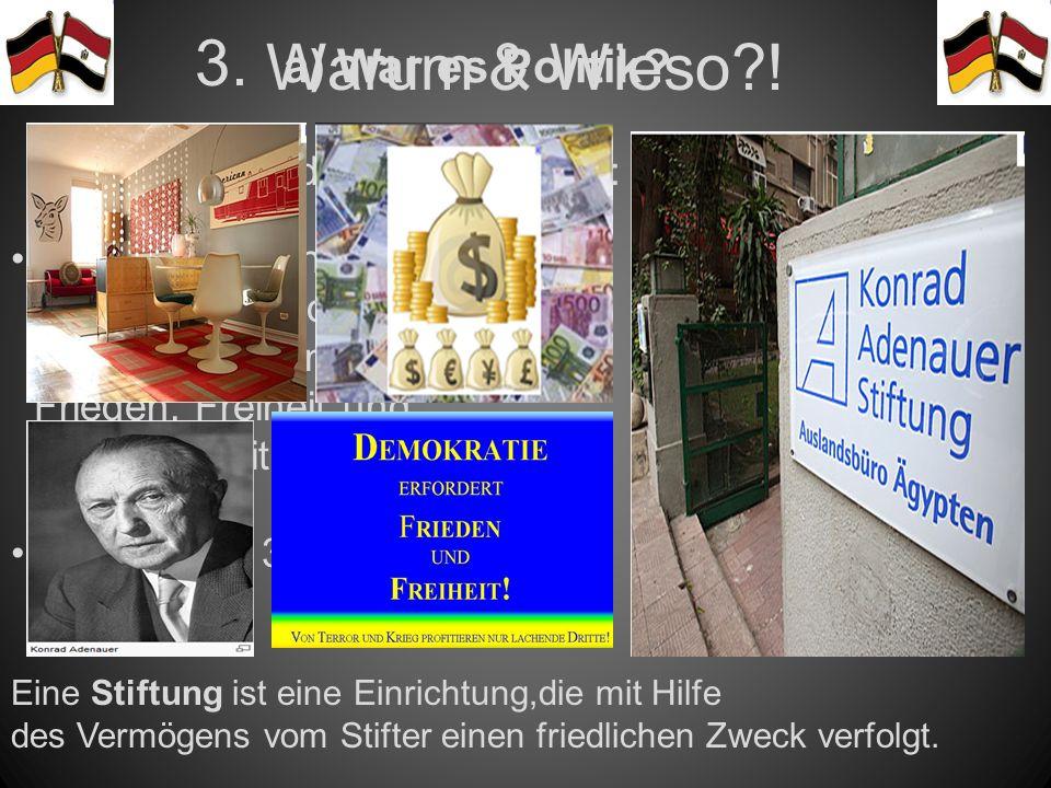 Warum & Wieso?.a) War es Politik. 3.