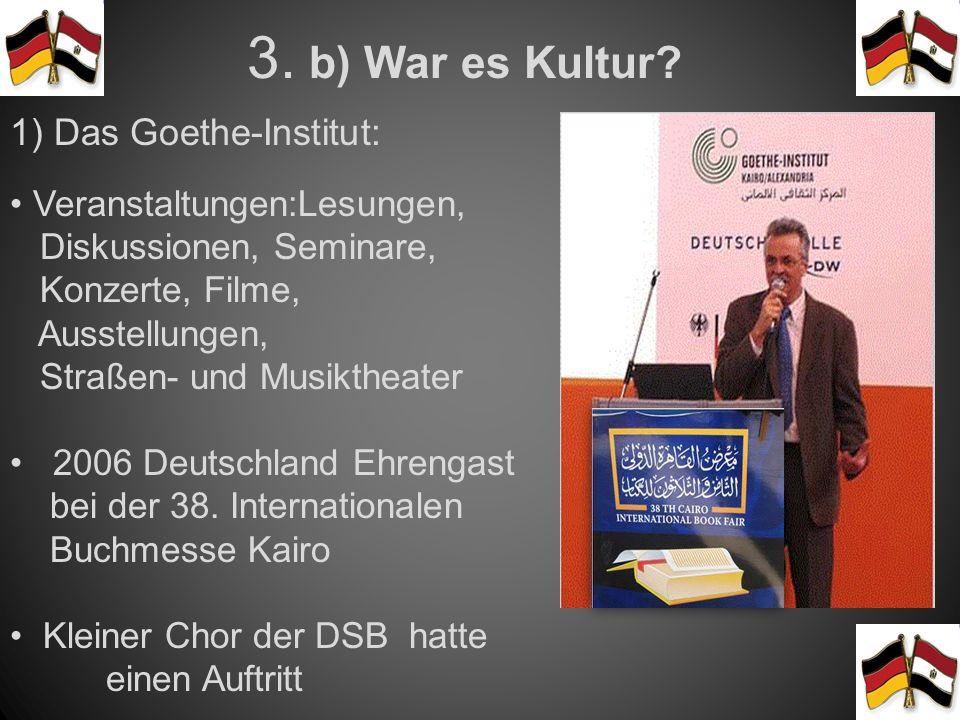 Warum & Wieso?! a) War es Politik? 3. Die Konrad -Adenauer- Stiftung: National und international setzen wir uns durch politische Bildung für Frieden,