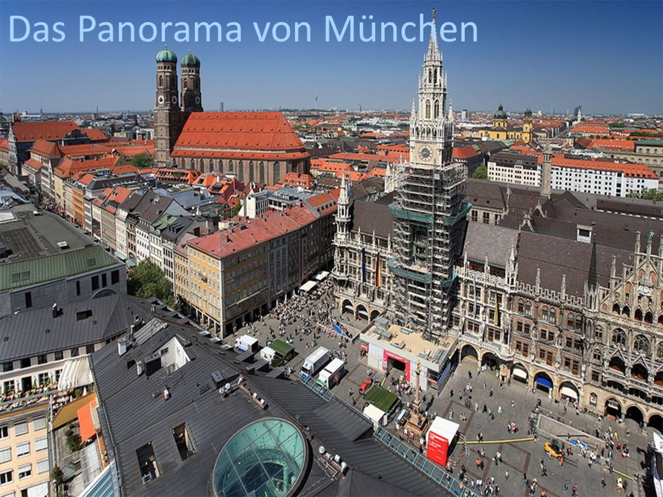 Das Panorama von München
