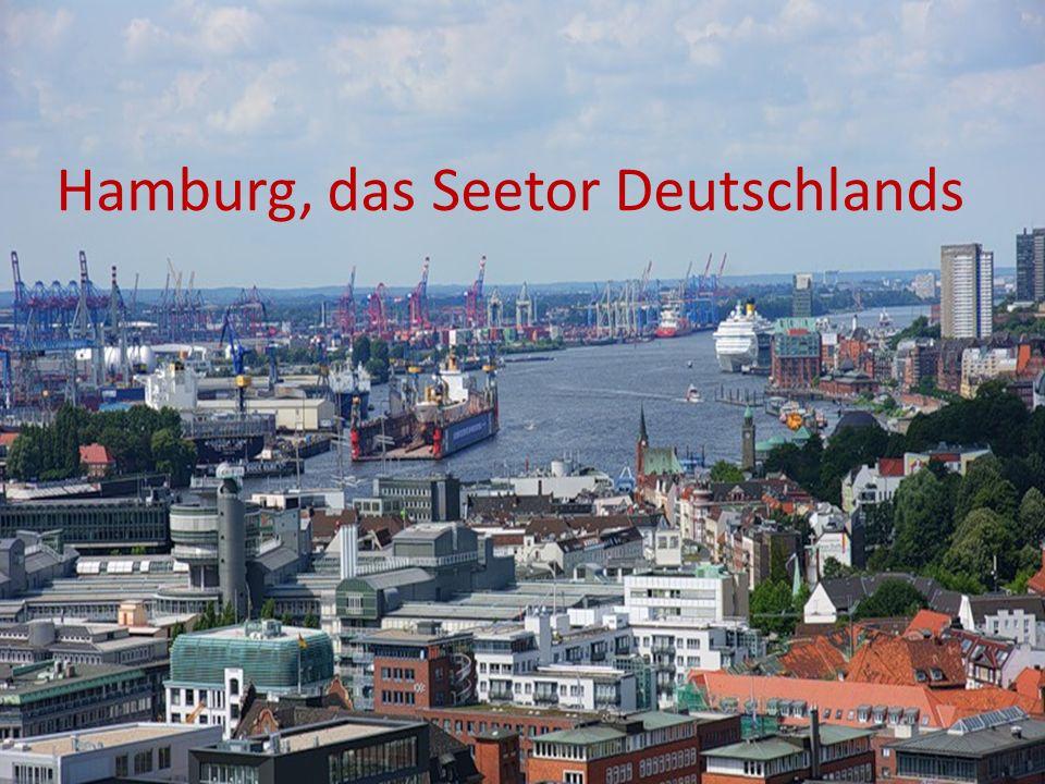 Hamburg, das Seetor Deutschlands