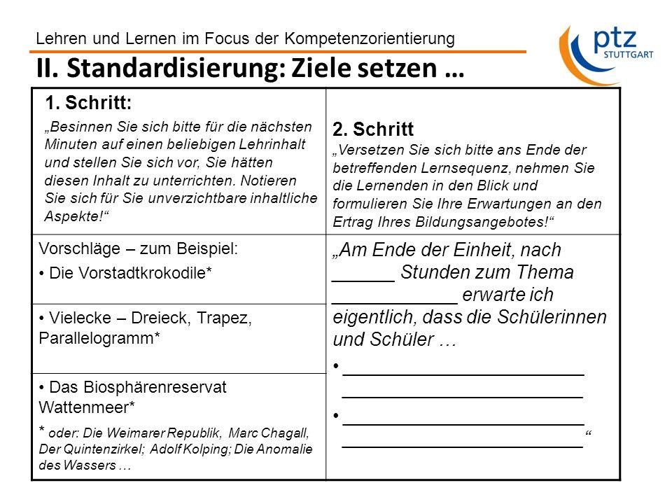 Gerhard Ziener, ptz Stuttgart 2011 Differenzierend und individualisierend unterrichten im Alltag 1.