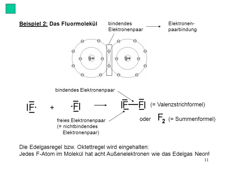 11 Die Edelgasregel bzw.