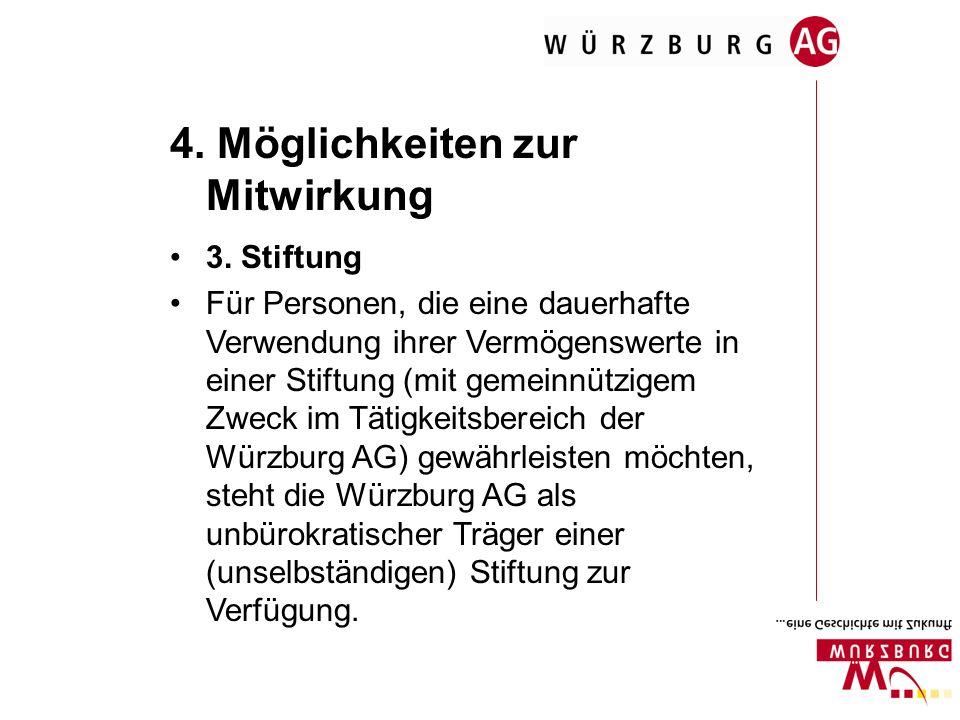 4. Möglichkeiten zur Mitwirkung 3.