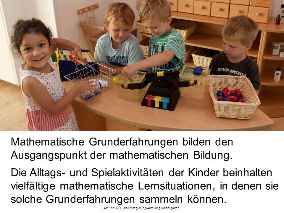 Kinder lernen Mathematik angeknüpft an konkrete Beobachtungen, Handlungen, Fragen und Themen, die ihnen in der Alltagswelt begegnen.