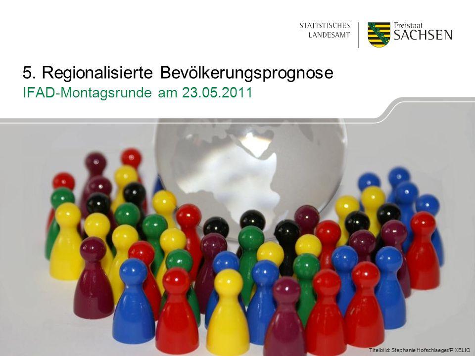 Titelbild: Stephanie Hofschlaeger/PIXELIO 5. Regionalisierte Bevölkerungsprognose IFAD-Montagsrunde am 23.05.2011