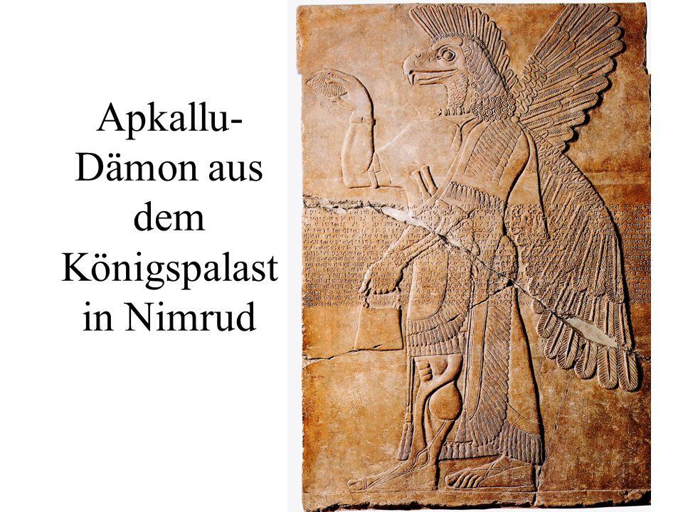Apkallu- Dämon aus dem Königspalast in Nimrud