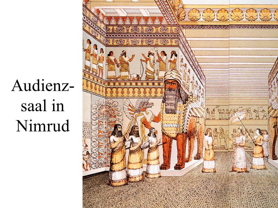 Audienz- saal in Nimrud