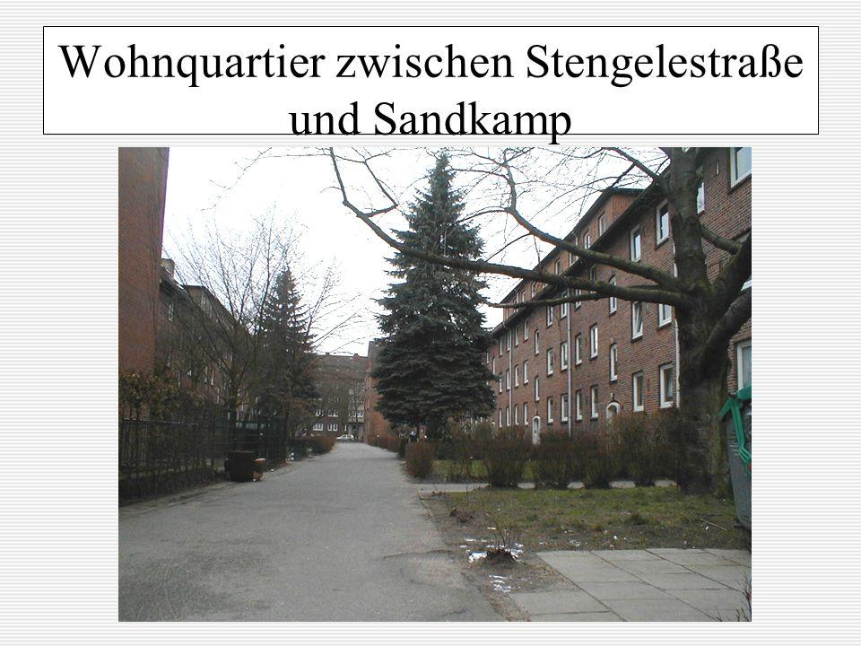 Wohnquartier zwischen Stengelestraße und Sandkamp