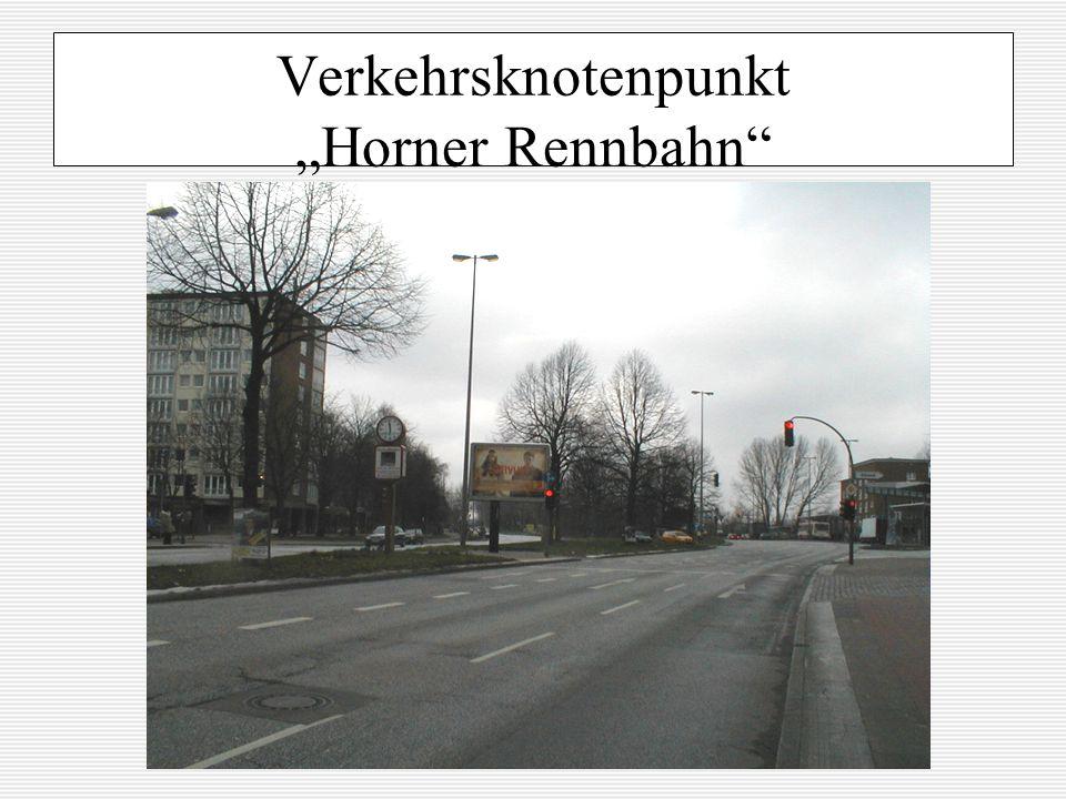 Verkehrsknotenpunkt Horner Rennbahn