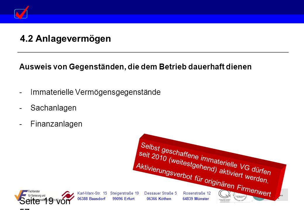 Karl-Marx-Str. 15 Steigerstraße 19 Dessauer Straße 5 Rosenstraße 12 06388 Baasdorf 99096 Erfurt 06366 Köthen 64839 Münster Seite 19 von 57 4.2 Anlagev